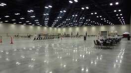 The Convention Center expansion includes a 86,878-square-foot exhibit hall, which is column-free for greater flexibility of space. About $261.7 million was spent on the project through mid-January, and another $12 million is being held for contractors until they finish more work.