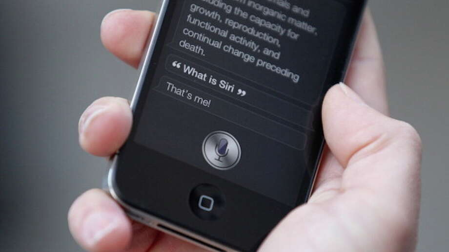 Researchers have found they can send hidden commands undetectable to the human ear to  Apple's Siri, Amazon's Alexa and Google's Assistant. Photo: Oli Scarff, Getty Images / 2011 Getty Images