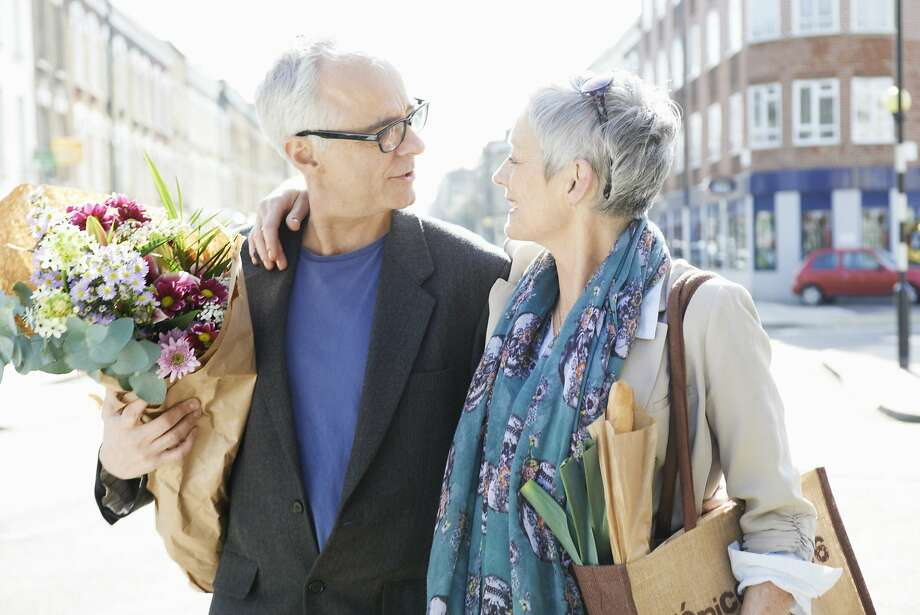 A woman wants more than flowers in a relationship with her boyfriend.  Photo: Tara Moore