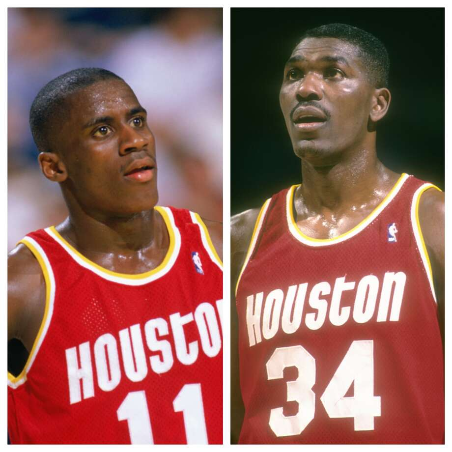 "Vernon Maxwell vs. Hakeem OlajuwonIn NBATV's ""Clutch City"" documentary, it was revealed that Olajuwon once slapped Maxwell in the locker room. In the first half of a road game, Maxwell spit on the court - which he did regularly. During halftime, Olajuwon told him to have some class and stop spitting on the floor. Words were exchanged, Maxwell defiantly spit on the locker room floor and got in Olajuwon's face. Olajuwon responded with a slap before teammates quickly broke them apart. Photo: Getty Images"