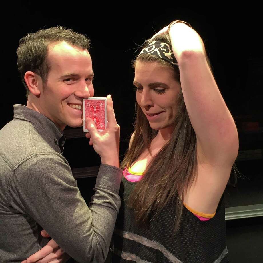 """James Monaghan and Robin Van Zandt star in """"52 Pick Up"""" at Theater LaB Houston. """" Photo: Courtesy Theater LaB Houston"""