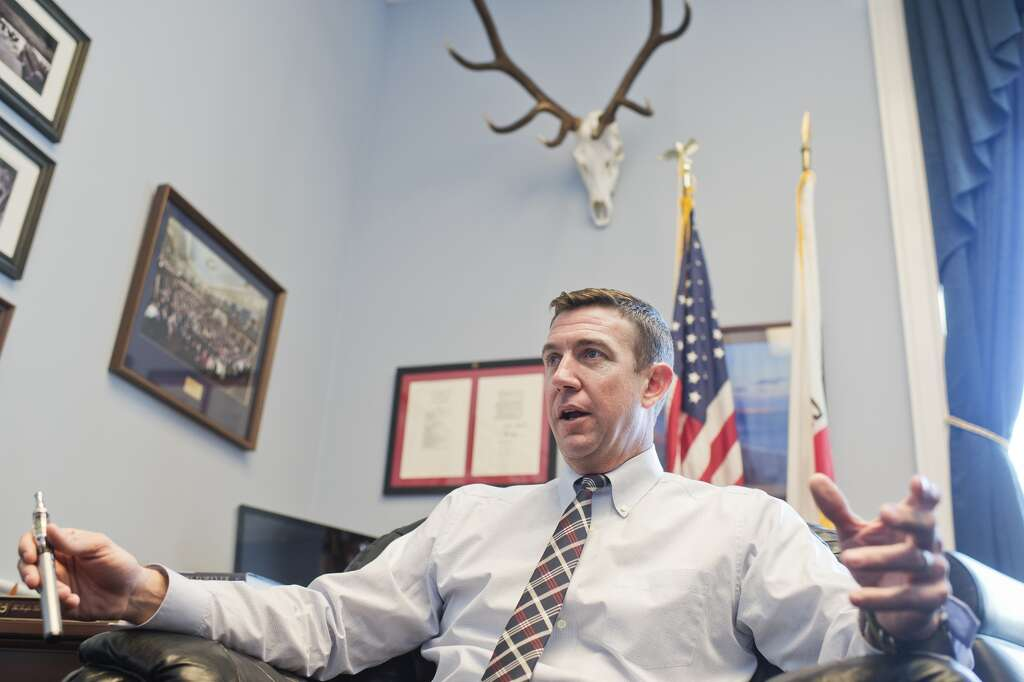 Rep. Duncan Hunter, R-Calif. Photo: Tom Williams, CQ Roll Call