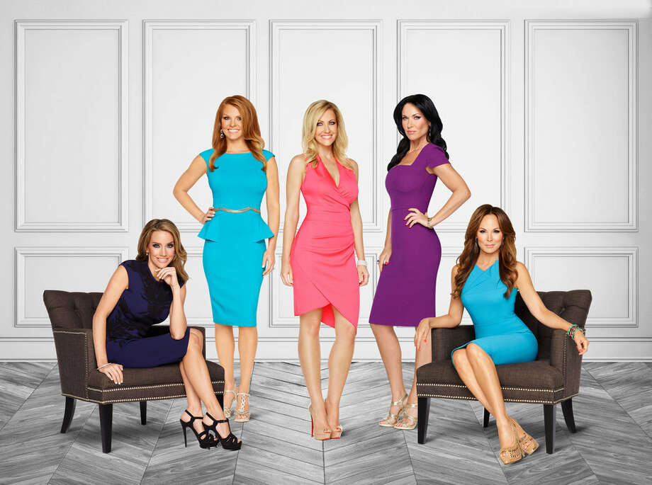 THE REAL HOUSEWIVES OF DALLAS -- Season:1 -- Pictured: (l-r) Casey Deuber, Brandi Redmond, Stephanie Hollman, LeeAnn Locken, Tiffany Hendra -- (Photo by: Michael Larsen/Bravo) Photo: Bravo, Michael Larsen/Bravo / 2015 Bravo Media, LLC