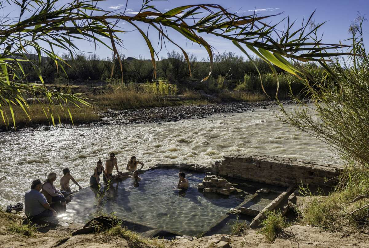 No. 2: Langford Hot Springs near the park's Rio Grande was formed by volcanic activity is about 105 degrees Fahrenheit.