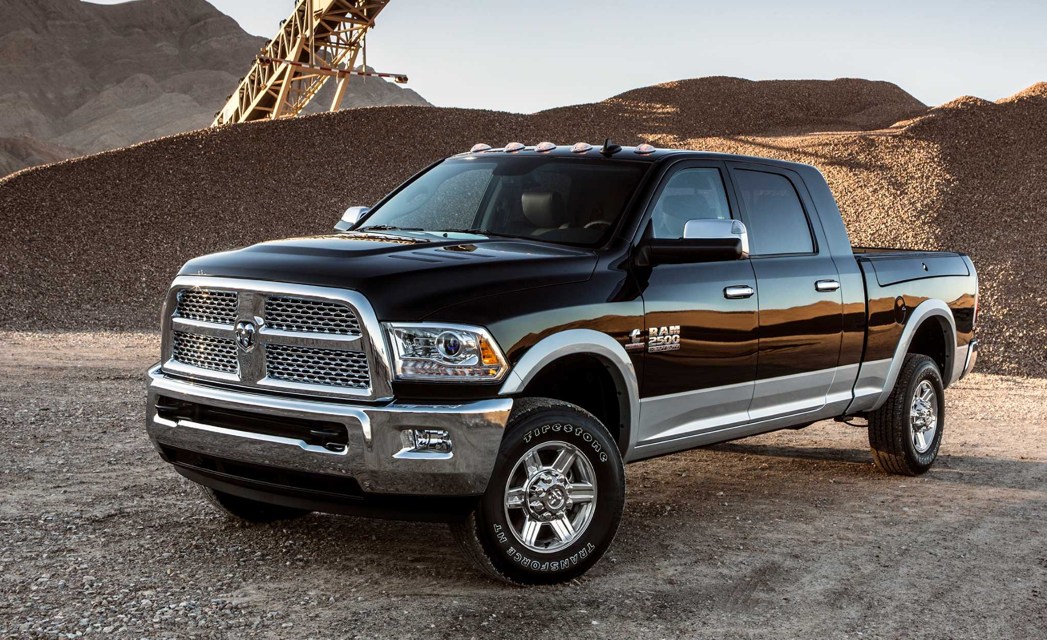 Ram 2500 Laramie Longhorn Carries The Luxury Banner Along With