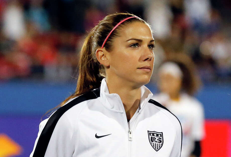 U.S. soccer star Alex Morgan, CalMorgan was the youngest player on the U.S. team at the 2011 World Cup and starred in the 2012 Olympics. She was a part of the Women's Women Cup winning team in Canada. Photo: Tony Gutierrez, AP / AP