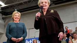 """Former Secretary of State Madeleine Albright, stumping for Hillary Clinton in New Hampshire, generated controversy with her remark on Feb. 6 that, 'Theres a special place in hell for women who dont help each other."""""""