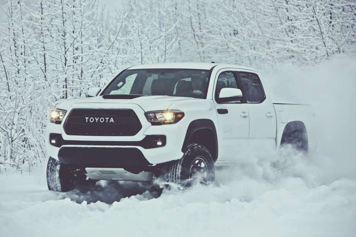 Toyota unveiled its 2017 Tacoma TRD Pro at the Chicago Auto Show last month.