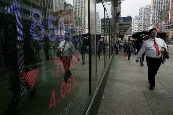 Investors are selling bank stocks as concern grows about their financial health. Among the top worries is that the global economy will weaken more than expected, souring some of the loans that banks have issued to companies around the world — particularly in distressed sectors such as the energy industry.