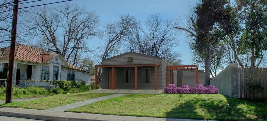 A rendering of Rising Barn's first home in San Antonio, located in Dignowity Hill on the East Side. Photo: Rising Barn, Courtesy