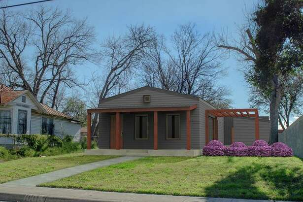 A rendering of Rising Barn's first home in San Antonio, located in Dignowity Hill on the East Side.