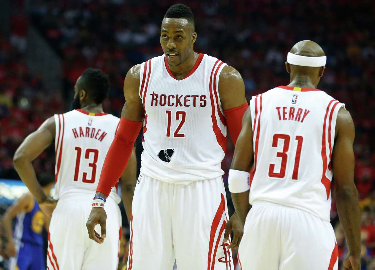 PHOTOS: Reliving Dwight Howard's time with the Rockets Dwight Howard spent three seasons with the Houston Rockets, he he said he thought about retiring after his second season in Houston. Browse through the photos above for a look at Dwight Howard's time in Houston.