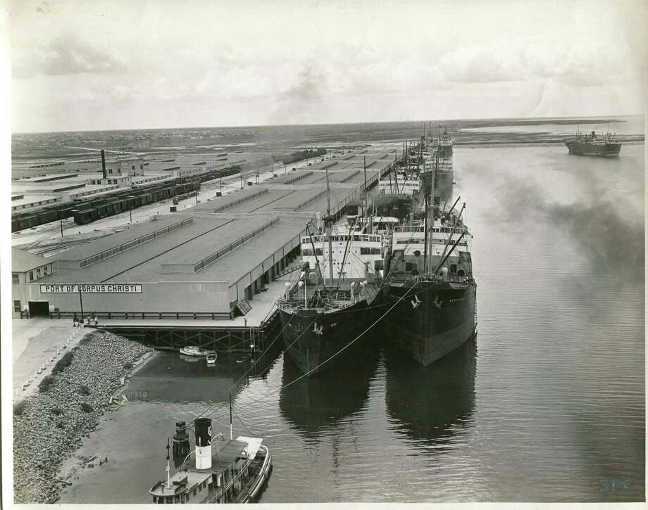 The Port of Corpus Christi opened in 1926 after a devastating hurricane seven years earlier destroyed the marine port at Harbor Island. It is now experiencing rapid growth, and is a major exporter of crude oil and liquified natural gas. Photo: File Photo