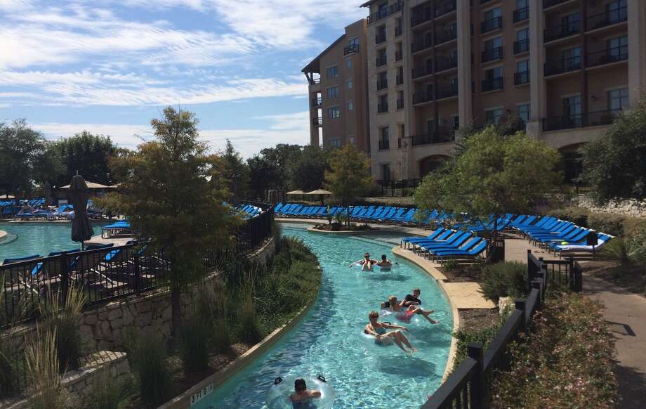 The JW Marriott San Antonio Hill Country Resort & Spa has installed Alexa devices in 10 of its most popular rooms, with plans to equip an additional 100 rooms next month.  Photo: Terry Scott Bertling / San Antonio Express-News