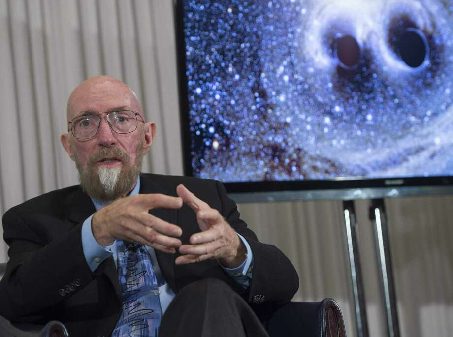 LIGO co-founders Kip Thorne speaks about the discovery that scientists have observed the ripples in the fabric of spacetime called gravitational waves for the first time, confirming a prediction of Albert Einstein's theory of relativity, during a press conference at the National Press Club in Washington, DC, February 11, 2016.