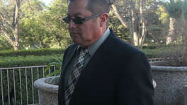 Alfredo Romero Gonzalez enters Federal Court Thursday February 11, 2016. Gonzalez received a 22 month sentence for his involvement in a bribery scheme.