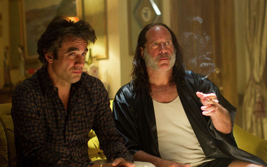 """Bobby Cannavale (left) and Andrew Dice Clay in the HBO series """"Vinyl,"""" a look at the New York City music scene of the 1970s."""