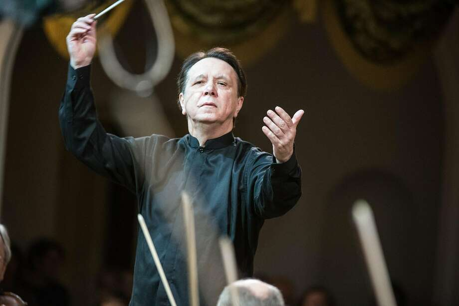Mikhail Pletnev conducted the Russian National Orchestra in Davies Symphony Hall. Photo: Alexei Molchanovsky/RNO