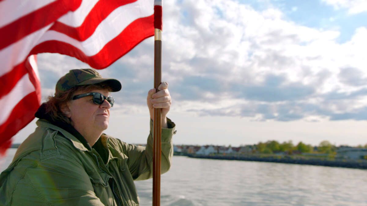 """Filmmaker Michael Moore claims other countries' good ideas for the United States in """"Where to Invade Next."""""""