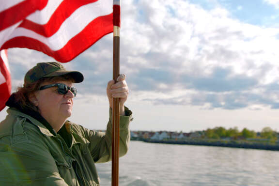 "Filmmaker Michael Moore claims other countries' good ideas for the United States in ""Where to Invade Next."""