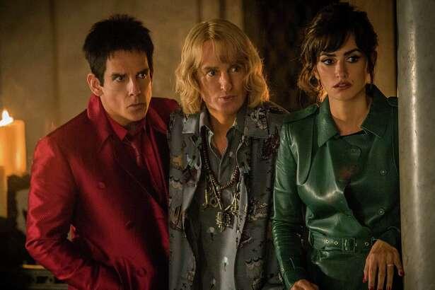 """Ben Stiller, from left, Owen Wilson and Penélope Cruz star in """"Zoolander No. 2."""""""