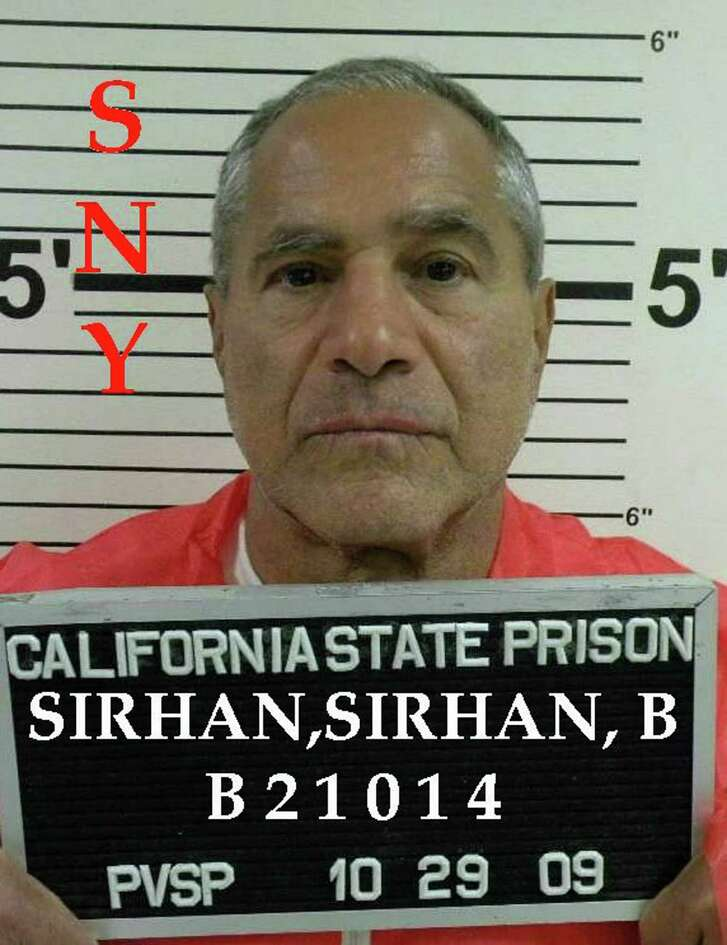This October 29, 2009 photograph obtained from the California Department of Corrections shows Sirhan Sirhan, who assassinated U.S. Democratic politician and presidential candidate Robert F. Kennedy in Los Angeles in 1968. (AFP/Getty Images)