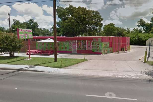 210 Ice Cream: 6502 S. Flores St., San Antonio, Texas 78214 Date: 02/04/2016 Demerits: 19 Highlights: Gnats seen in the kitchen, no soap or paper towels at hand washing sinks, employees' personal food items found near food areas, no Certified Food Manager (CFM) present, most recent inspection report must be posted