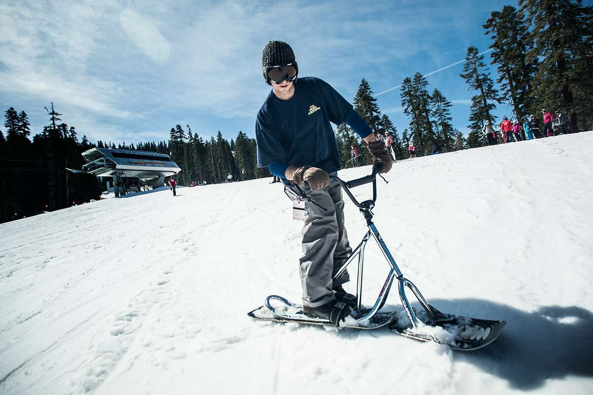Sierra-at-Tahoe has a first-timer package for budget travelers, as well as the Blizzard Mountain snow play area.