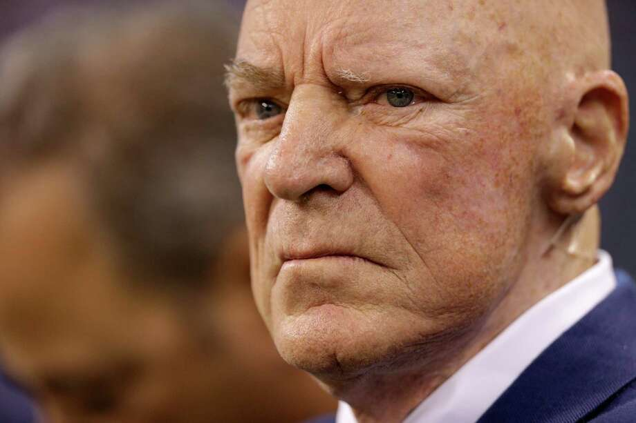 Houston Texans owner Bob McNair offers an interesting defense of NFL commissioner Roger Goodell in Sunday's New York Times Magazine. ( Brett Coomer / Houston Chronicle ) Photo: Brett Coomer, Staff / © 2015  Houston Chronicle