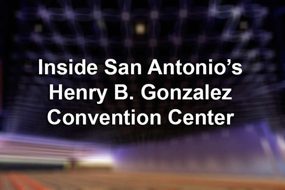 Inside San Antonio's Henry B. Gonzalez Convention Center Photo: Kin Man Hui, San Antonio Express-News / ©2016 San Antonio Express-News