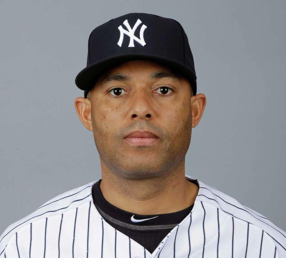 Foto de archiivo de 2013 en la que aparece el relevista Mariano Rivera, de los Yanquis de Nueva York. (AP Foto/Matt Slocum, File) ORG XMIT: SPANNY175 Photo: Matt Slocum / MLBPV AP