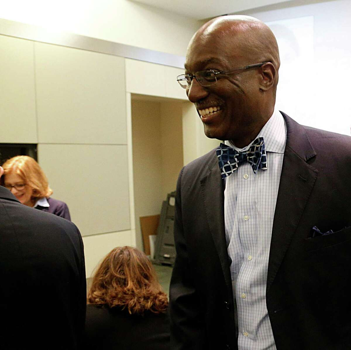 Houston ISD Interim Superintendent Ken Huewitt said district officials are working on a public-relations campaign to inform voters about the expected November election regarding having to send money back to the state.
