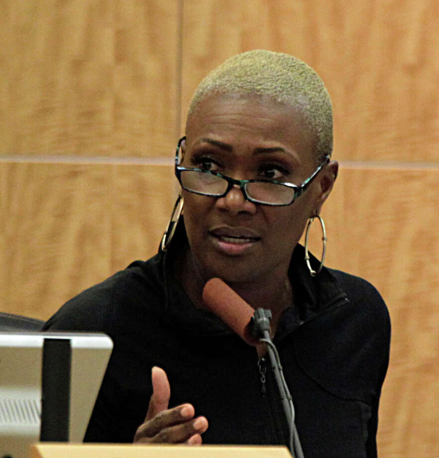 Houston Independent School District board member Jolanda Jones shown in this file photo.Keep going for a look at the protests against Donald Trump that have erupted since the election. Photo: James Nielsen, Houston Chronicle / © 2015  Houston Chronicle