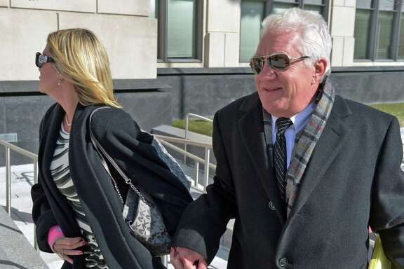 Former Freedom Industries executive Dennis Farrell heads into court Thursday.