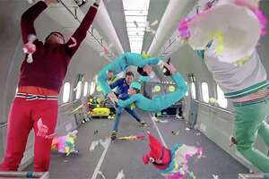 OK Go's zero gravity music video will make you jealous - Photo