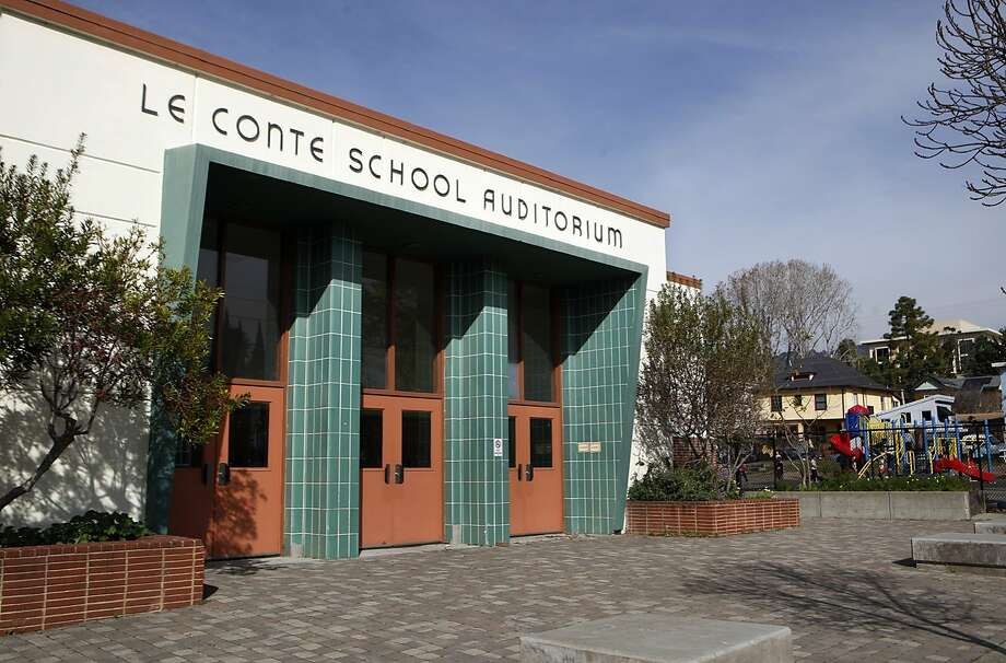 LeConte Elementary School in Berkeley, Calif., is amongst several schools across the country considering a name change. Thursday, Feb. 11, 2016 Photo: Brittany Murphy, The Chronicle