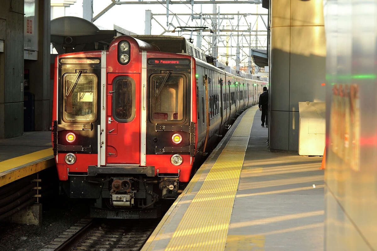 The rollout of all the new M8 cars on Metro-North's New Haven Line was one of the things to love about the railroad in 2015. Metro-North President Joseph Giulietti rode one of the new M8s when he paid the Stamford, Conn. station in April 2014 to talk with commuters about their concers for the rail line