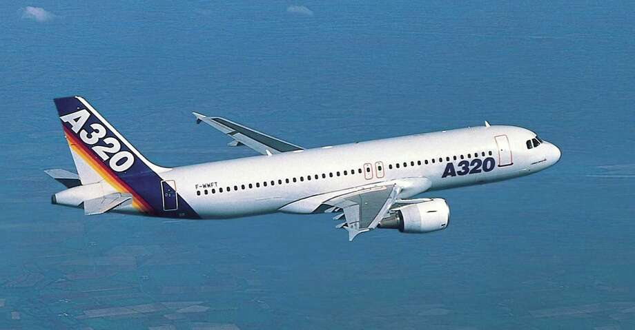 The Airbus A320 had 19,366 flights at Bush Intercontinental and 82 flights at Hobby in 2015. Photo: AFP, AFP/Getty Images / AFP