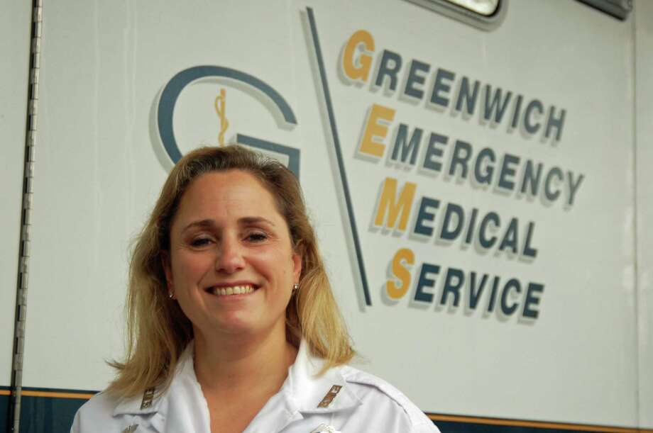 Greenwich Emergency Medical Services Advanced EMT Kara Schiff Schiff will leave Tuesday on her second humanitarian mission to the Greek island of Lesbos, a gateway for refugees. Photo: Ken Borsuk / Hearst Connecticut Media / Greenwich Time