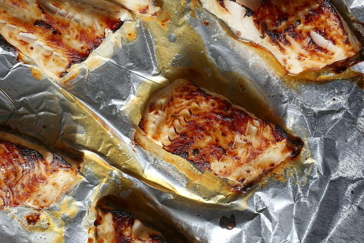 Miso-Glazed Black Cod, a classic preparation.