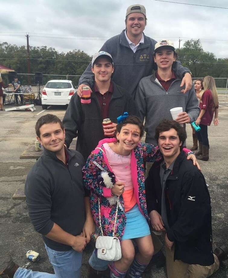 Tailgating is customary for college students, and Sheinberg always makes it out to show her support for the Bobcats. Photo: Garth Tubbs Texas State University IFC President, Courtesy