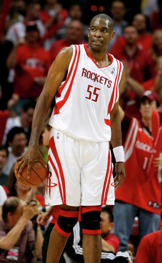 Dikembe MutomboPosition:CenterTime with the Rockets:2004-09Year of HOF induction:2015The shot-blocker extraordinaire whose salad days were in Denver and Atlanta spent his final five seasons with the Rockets, mostly in a reserve role. Photo: Nick De La Torre, Houston Chronicle / Houston Chronicle