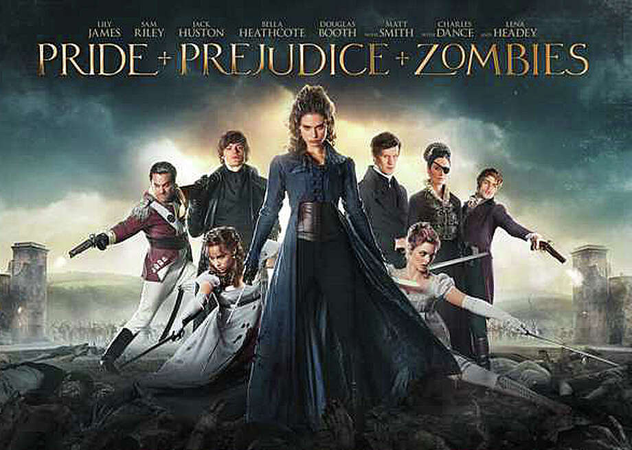 "Jane Austen's classic novel, ""Pride and Prejudice,"" mixed with zombies, results in the new movie parody, ""ìPride and Prejudice and Zombies.î Photo: Contributed Photo / Contributed Photo / Westport News"