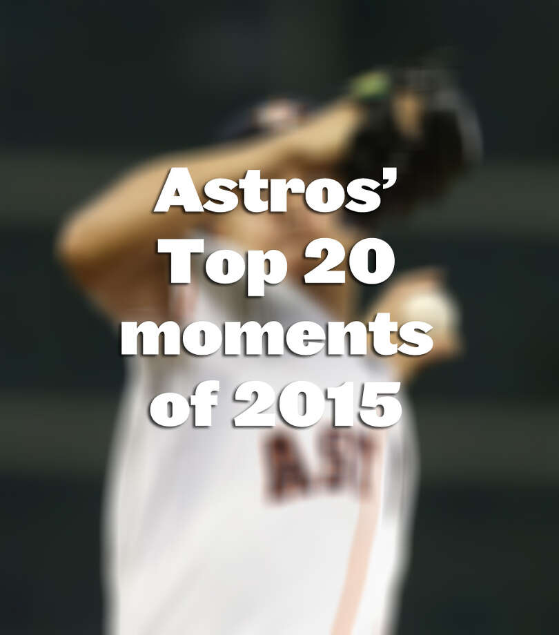 See some of the moments that helped make 2015 special for the Houston Astros and their fans.