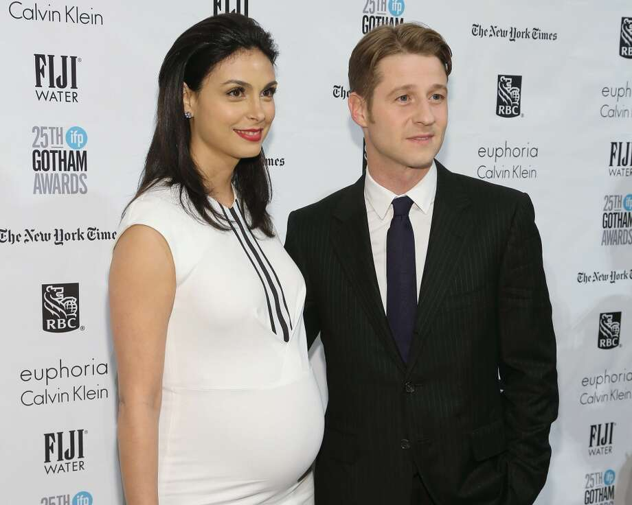 """Morena Baccarin and Ben McKenzie attend the 2015 Gotham Independent Film Awards at Cipriani Wall Street on November 30, 2015 in New York City. Keep clicking to see images of Baccarin, who is in the new hit movie """"Deadpool"""". Photo: Taylor Hill, Getty Images"""