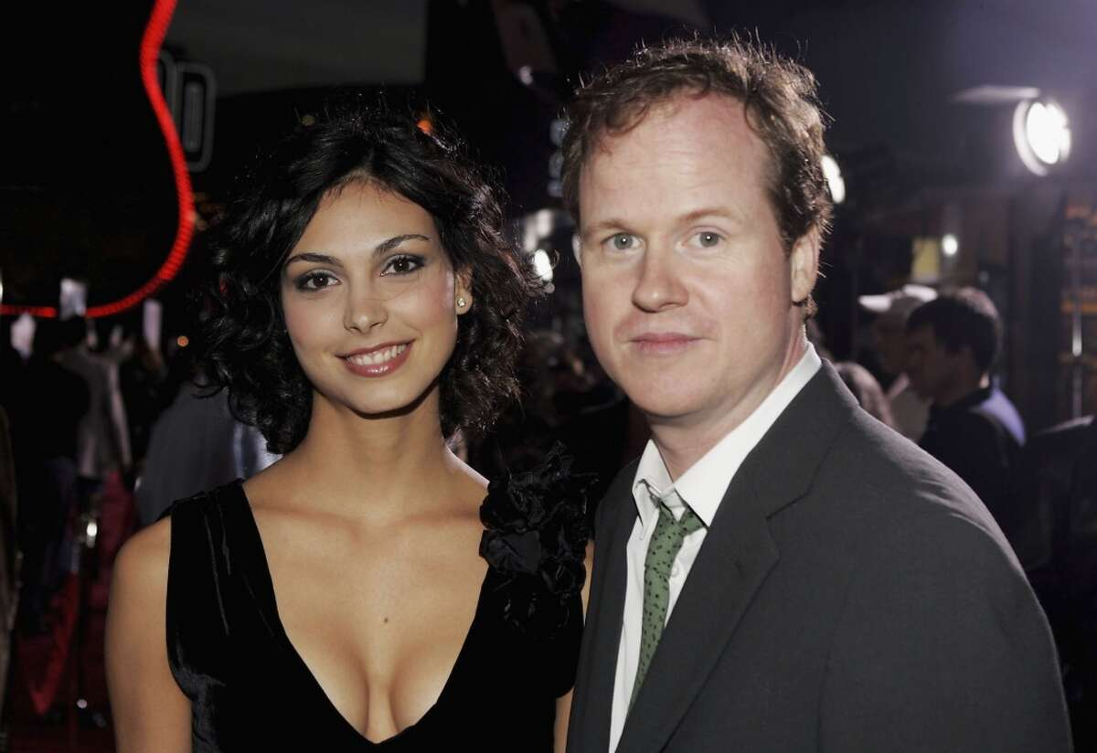 Actress Morena Baccarin poses with director Joss Whedon at the Universal Pictures' Premiere of
