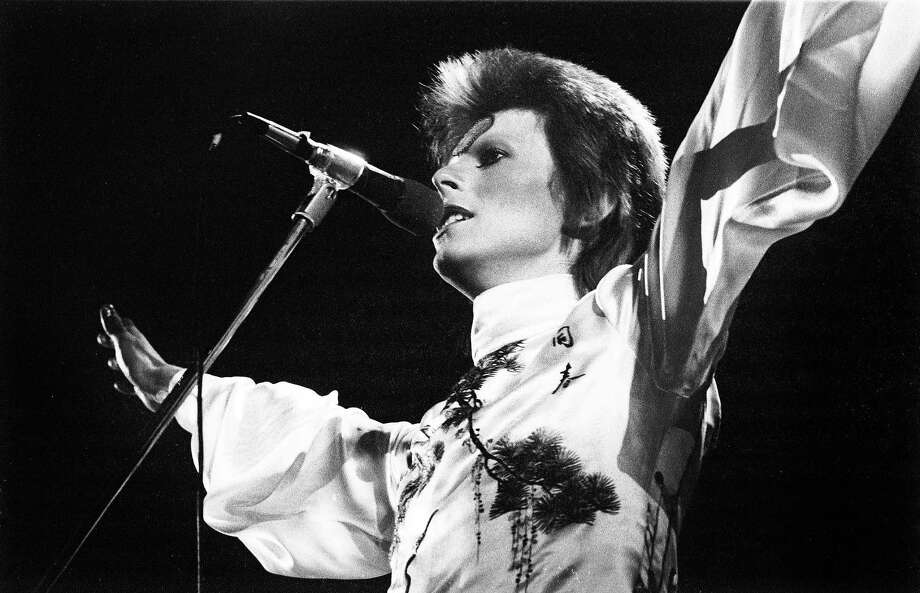 "David Bowie had fans of every age as people discovered him throughout his career, says Greil Marcus, the author of ""Mystery Train."" Photo: Gijsbert Hanekroot / Redferns / 1973 Gijsbert Hanekroot"