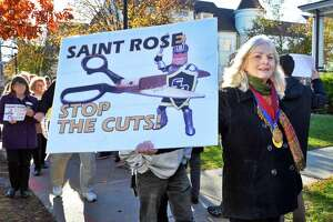 Saint Rose trustees stand behind president amid calls for resignation - Photo