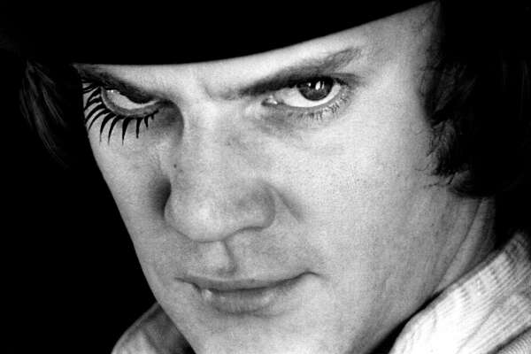 "FAVORITE MOVIE:   ""A Clockwork Orange"""