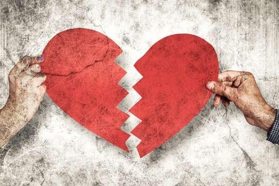 Broken-hearted on Valentine's Day?